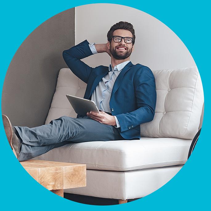 Profitez d'un service notarial digitalisé et sécurisé. Restez connecté avec vos clients et leur(s) notaire(s) tout au long du dossier de vente.