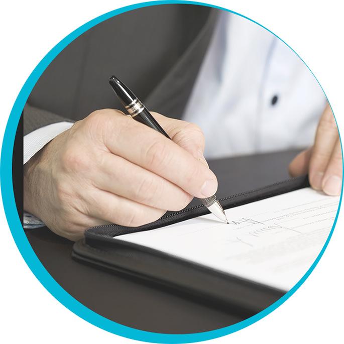 Conforme aux exigences <em>du notariat</em>